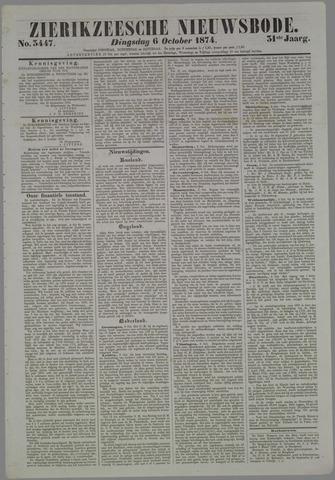 Zierikzeesche Nieuwsbode 1874-10-06