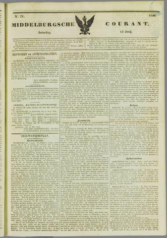 Middelburgsche Courant 1846-06-13