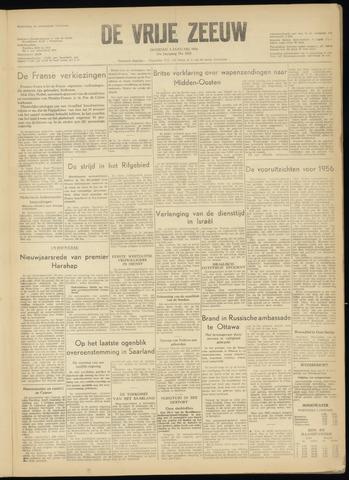 de Vrije Zeeuw 1956-01-03