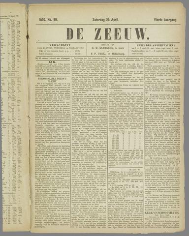De Zeeuw. Christelijk-historisch nieuwsblad voor Zeeland 1890-04-26
