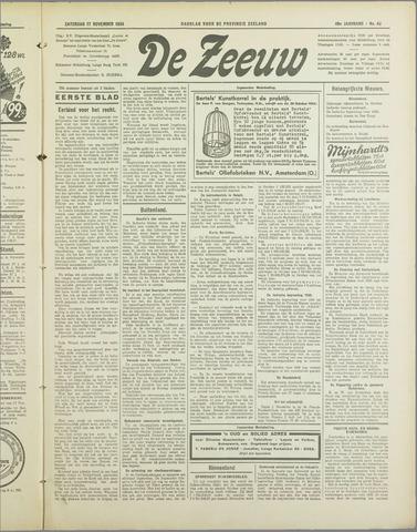 De Zeeuw. Christelijk-historisch nieuwsblad voor Zeeland 1934-11-17