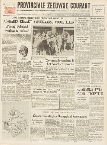 Provinciale Zeeuwse Courant 1965-08-20