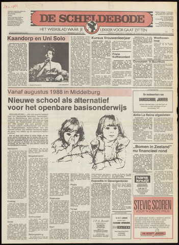 Scheldebode 1987