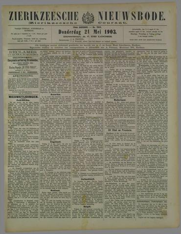 Zierikzeesche Nieuwsbode 1903-05-21