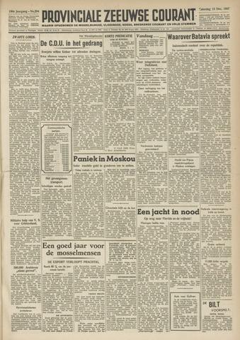 Provinciale Zeeuwse Courant 1947-12-13
