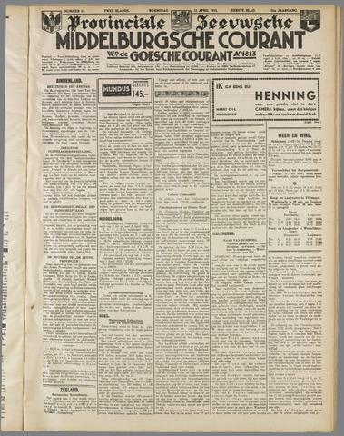 Middelburgsche Courant 1933-04-12