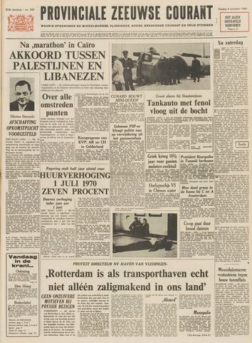 Provinciale Zeeuwse Courant 1969-11-04