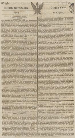 Middelburgsche Courant 1827-08-07