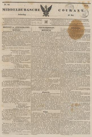 Middelburgsche Courant 1843-05-27