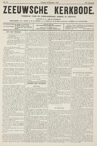Zeeuwsche kerkbode, weekblad gewijd aan de belangen der gereformeerde kerken/ Zeeuwsch kerkblad 1934-12-28