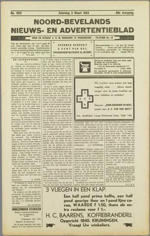 Noord-Bevelands Nieuws- en advertentieblad 1934-03-03