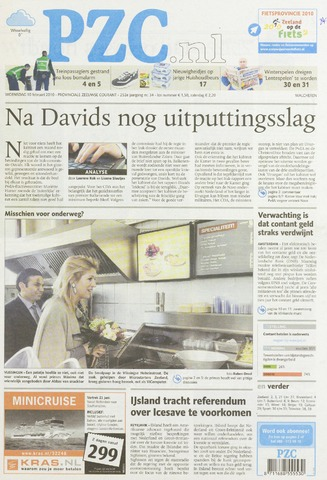 Provinciale Zeeuwse Courant 2010-02-10