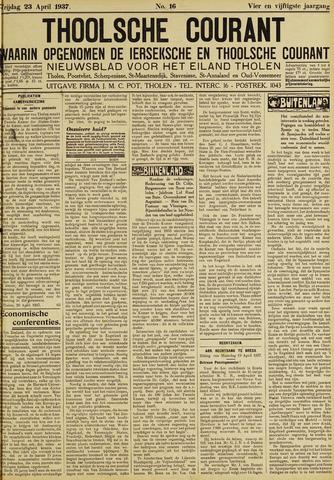 Ierseksche en Thoolsche Courant 1937-04-23