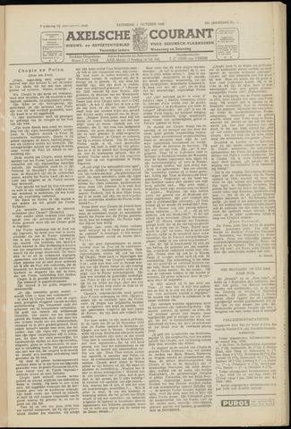 Axelsche Courant 1949-10-01
