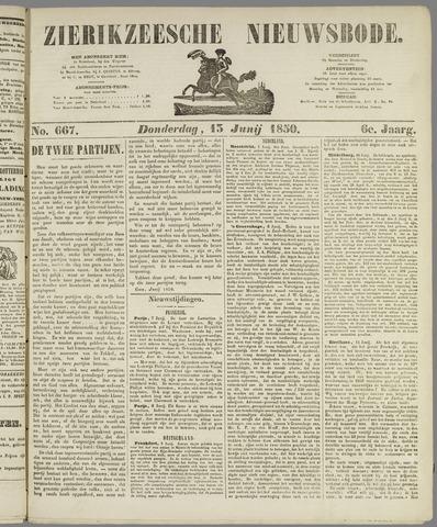 Zierikzeesche Nieuwsbode 1850-06-13