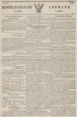 Middelburgsche Courant 1850-08-08