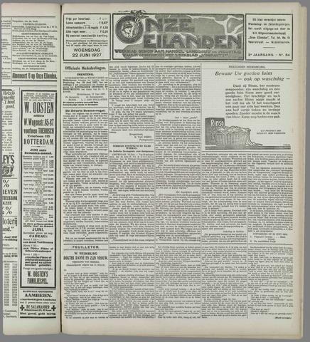 Onze Eilanden 1927-06-22