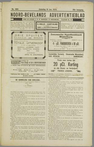 Noord-Bevelands Nieuws- en advertentieblad 1929-01-19