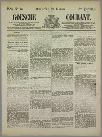 Goessche Courant 1885-01-29