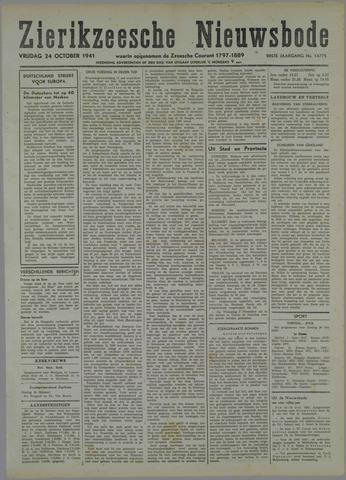 Zierikzeesche Nieuwsbode 1941-10-08