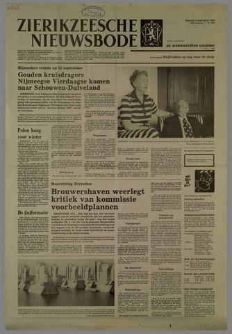 Zierikzeesche Nieuwsbode 1981-09-01