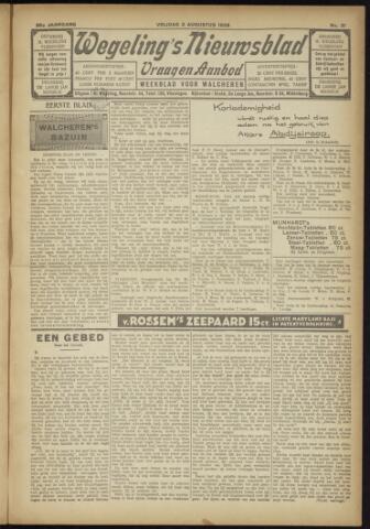 Zeeuwsch Nieuwsblad/Wegeling's Nieuwsblad 1929-08-02