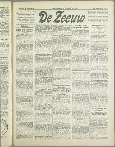 De Zeeuw. Christelijk-historisch nieuwsblad voor Zeeland 1937-08-18