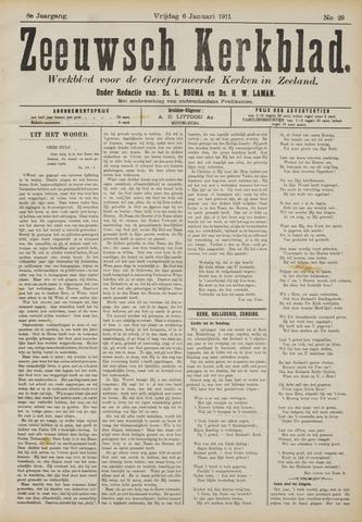 Zeeuwsche kerkbode, weekblad gewijd aan de belangen der gereformeerde kerken/ Zeeuwsch kerkblad 1911