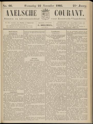 Axelsche Courant 1905-11-22