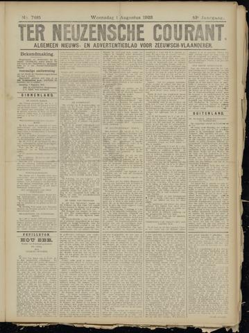 Ter Neuzensche Courant. Algemeen Nieuws- en Advertentieblad voor Zeeuwsch-Vlaanderen / Neuzensche Courant ... (idem) / (Algemeen) nieuws en advertentieblad voor Zeeuwsch-Vlaanderen 1923-08-01