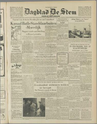 de Stem 1954-02-08