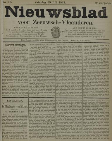 Nieuwsblad voor Zeeuwsch-Vlaanderen 1893-07-29