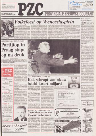 Provinciale Zeeuwse Courant 1989-11-25