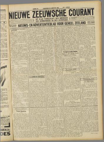 Nieuwe Zeeuwsche Courant 1932-08-25