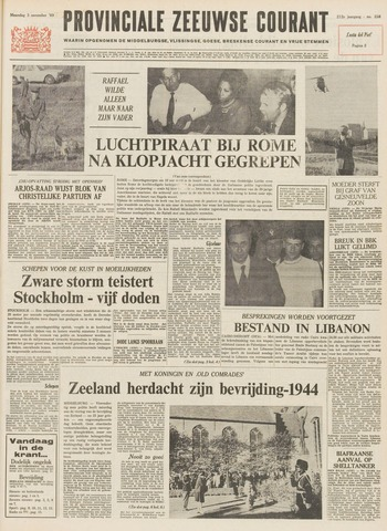 Provinciale Zeeuwse Courant 1969-11-03