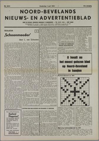 Noord-Bevelands Nieuws- en advertentieblad 1980-04-03