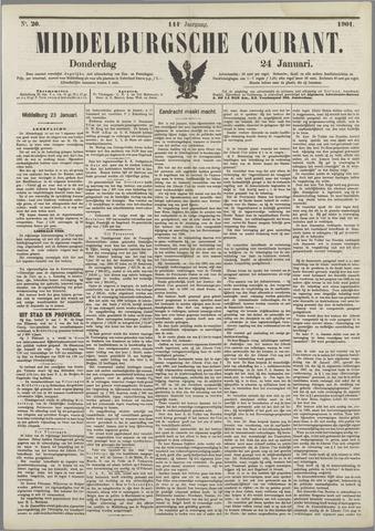 Middelburgsche Courant 1901-01-24