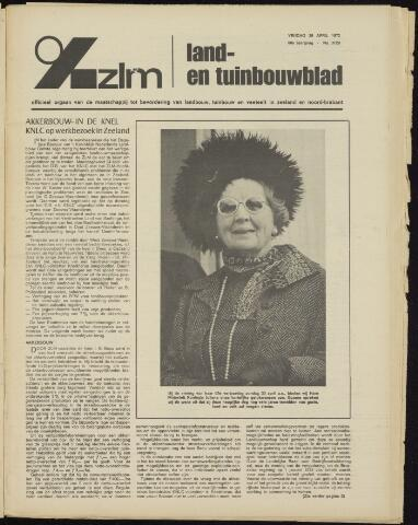 Zeeuwsch landbouwblad ... ZLM land- en tuinbouwblad 1972-04-28