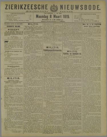 Zierikzeesche Nieuwsbode 1915-03-08
