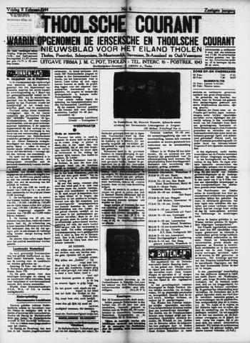 Ierseksche en Thoolsche Courant 1944-02-11