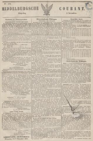 Middelburgsche Courant 1850-11-05