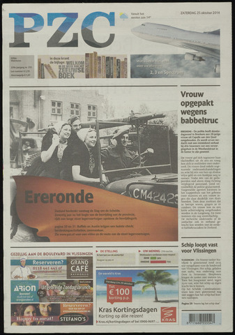 Provinciale Zeeuwse Courant 2014-10-25