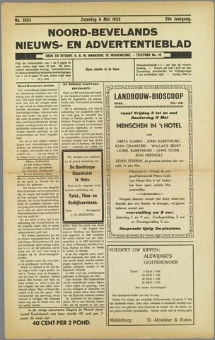 Noord-Bevelands Nieuws- en advertentieblad 1933-05-06