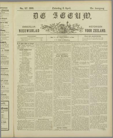 De Zeeuw. Christelijk-historisch nieuwsblad voor Zeeland 1901-04-06