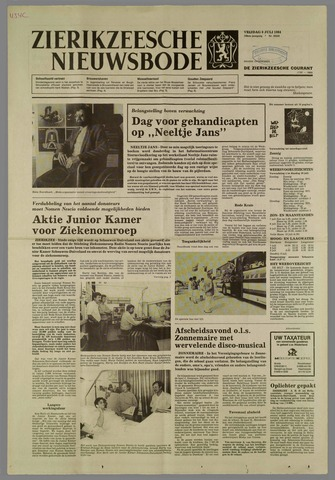Zierikzeesche Nieuwsbode 1984-07-06