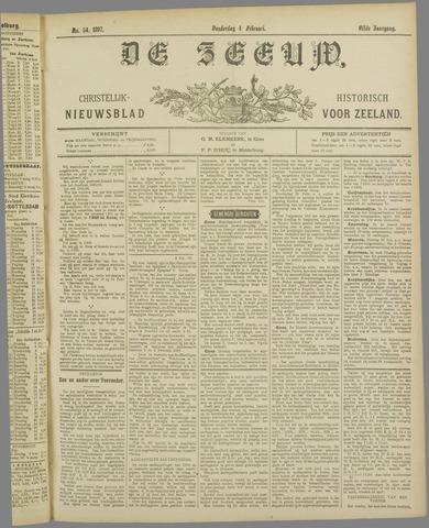 De Zeeuw. Christelijk-historisch nieuwsblad voor Zeeland 1897-02-04
