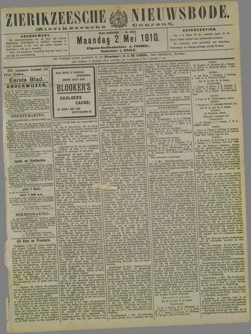 Zierikzeesche Nieuwsbode 1910-05-02