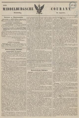 Middelburgsche Courant 1852-08-12
