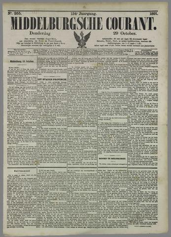 Middelburgsche Courant 1891-10-29