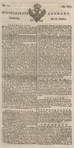 Middelburgsche Courant 1771-01-24